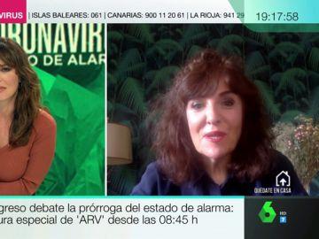 """La crítica de Elvira Lindo a la dura oposición al Gobierno: """"Hay comentarios que parecen más de bar que de calidad política"""""""