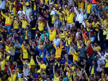 Aficionados de la UD Las Palmas