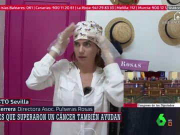 """El emotivo agradecimiento de un grupo de mujeres con cáncer a los sanitarios: """"Ellas sienten que les han salvado la vida"""""""