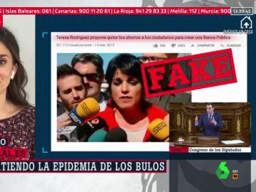 """No, Teresa Rodríguez no quiere """"quitarte los ahorros para crear una Banca Pública"""" en plena crisis del coronavirus"""