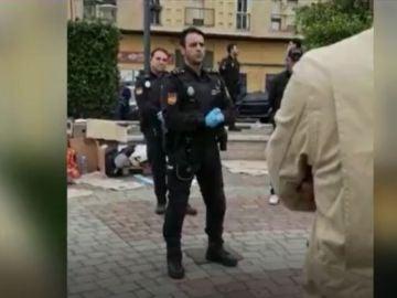 El subinspector Rachid, de la Policía Nacional en Melilla