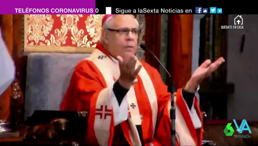 El arzobispo Francisco Javier Martínez