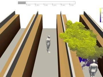 Simulación realizada por un grupo de investigadores