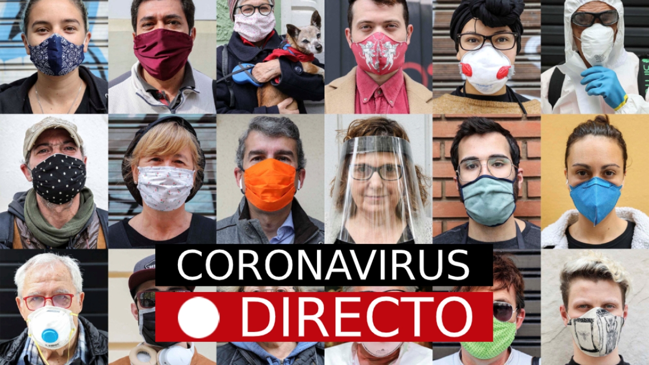 Última hora del Coronavirus en España | Curva de infectados y muertos, noticias en directo