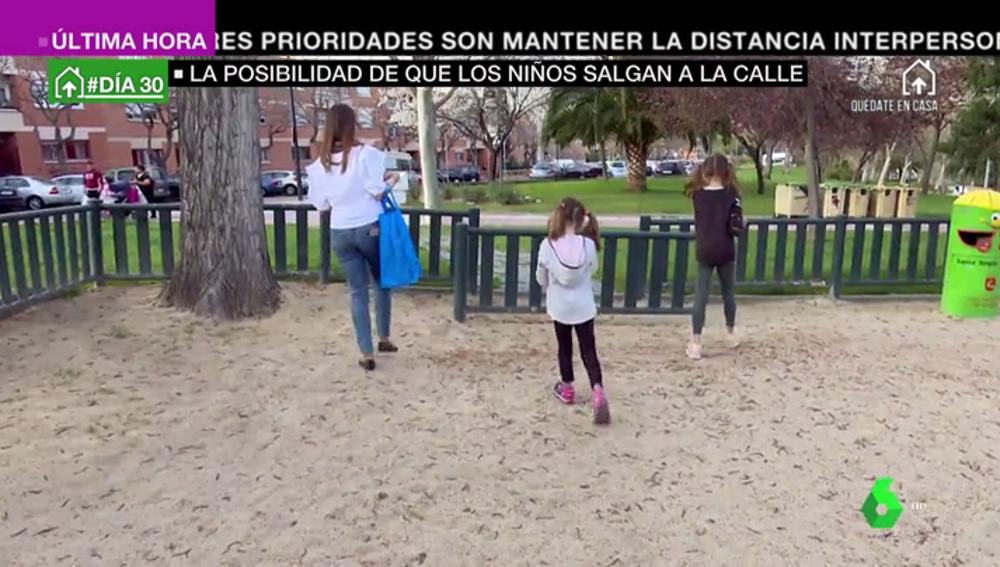 Madrid y Galicia piden al Gobierno que los niños puedan salir a la calle