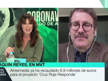 """El irónico dardo de Joaquín Reyes a Vox para defender la cultura: """"Claro, todo español de bien lo sabe"""""""