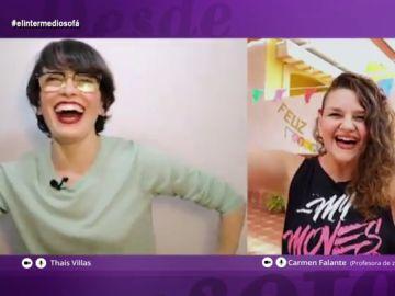 Zumba virtual, la 'terapia' anti-estrés en tiempos de coronavirus que anima incluso a Thais Villas
