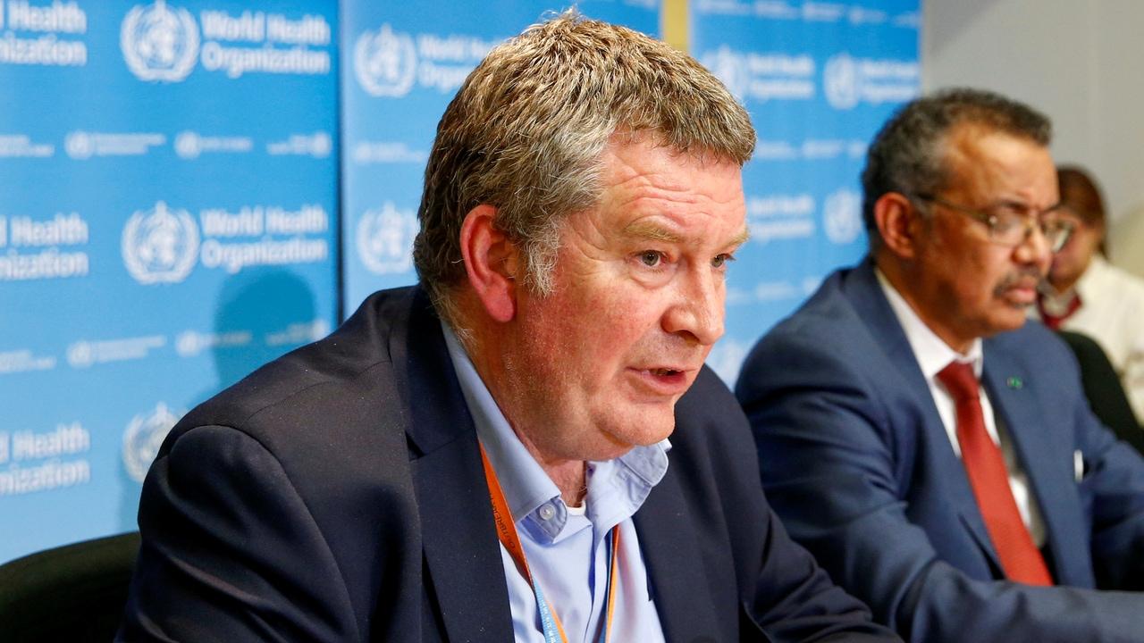 Mike Ryan, director ejecutivo de la OMS para emergencias sanitarias