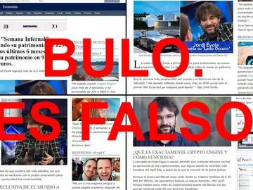 Informaciones falsas que relacionan a Jordi Évole con una estafa de criptomonedas