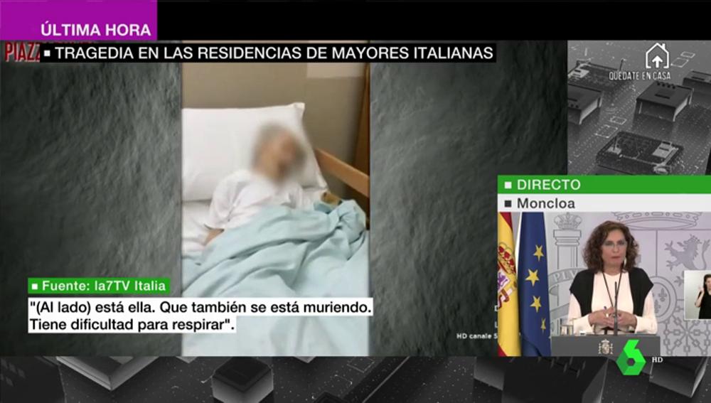 """""""Es una masacre"""": la pandemia siembra el horror en las residencias italianas sin que se pueda conocer el número de fallecidos"""