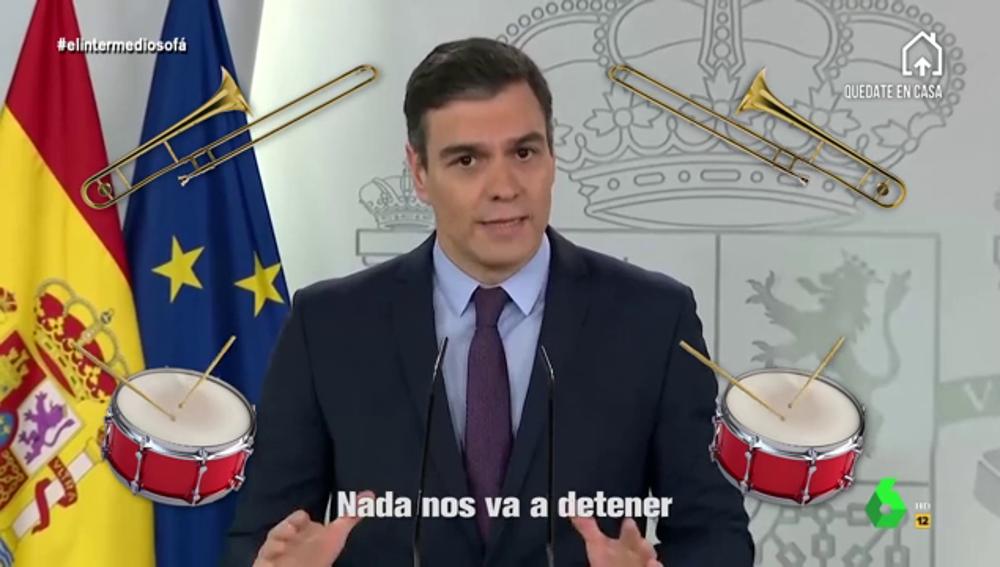 Hit de Iván Lagarto sobre Pedro Sánchez
