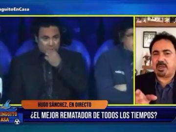 Hugo Sánchez se ofrece para entrenar al Real Madrid en directo en 'El Chiringuito'