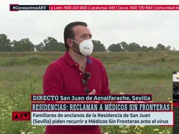 """Reclaman la intervención de Médicos Sin Fronteras en una residencia de ancianos: """"Es una llamada de auxilio"""""""