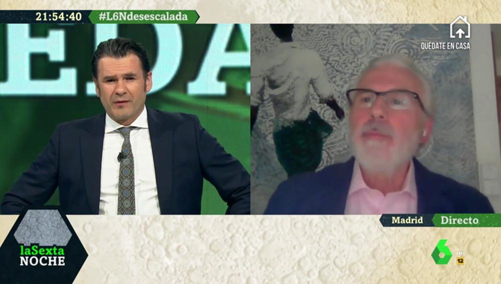 """Baltasar Garzón: """"Me parece inhumano que se haga responsable a Iglesias de lo ocurrido en las residencias"""""""