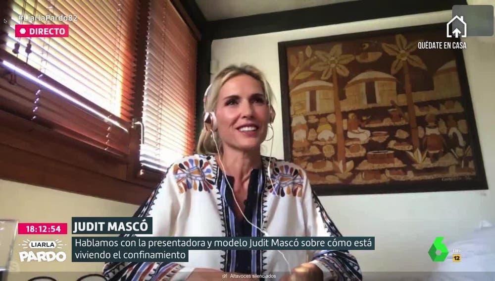 Judit Mascó, presentadora, modelo y presidenta de la fundación Ared