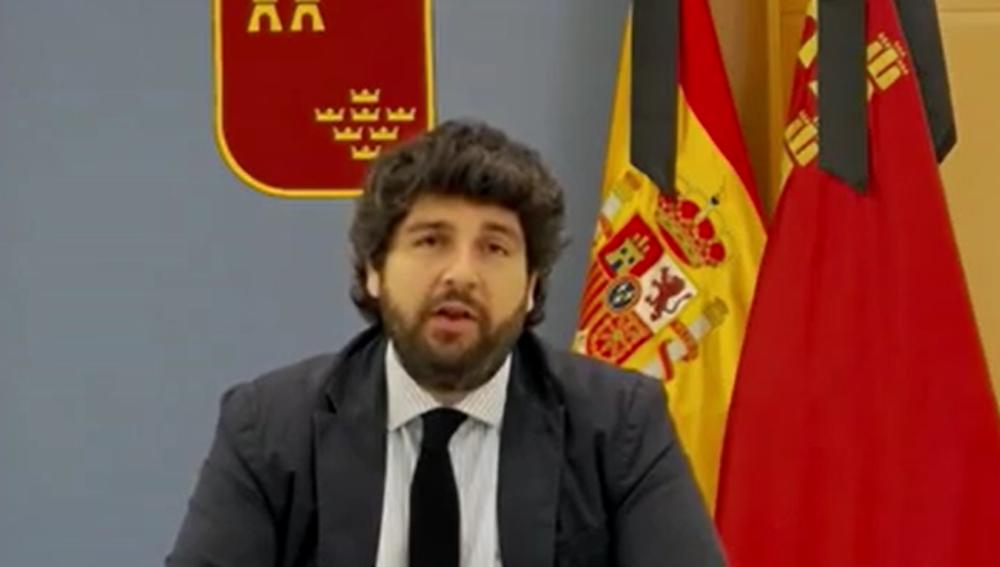 Fernando López Miras, en Liarla Pardo