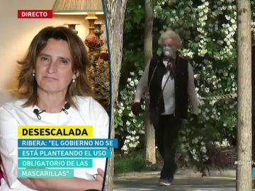 """Ribera matiza el plan de desconfinamiento en Cataluña: """"Aún no ha llegado ninguna propuesta concreta"""""""