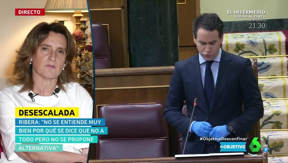 Teresa Ribera, en El Objetivo