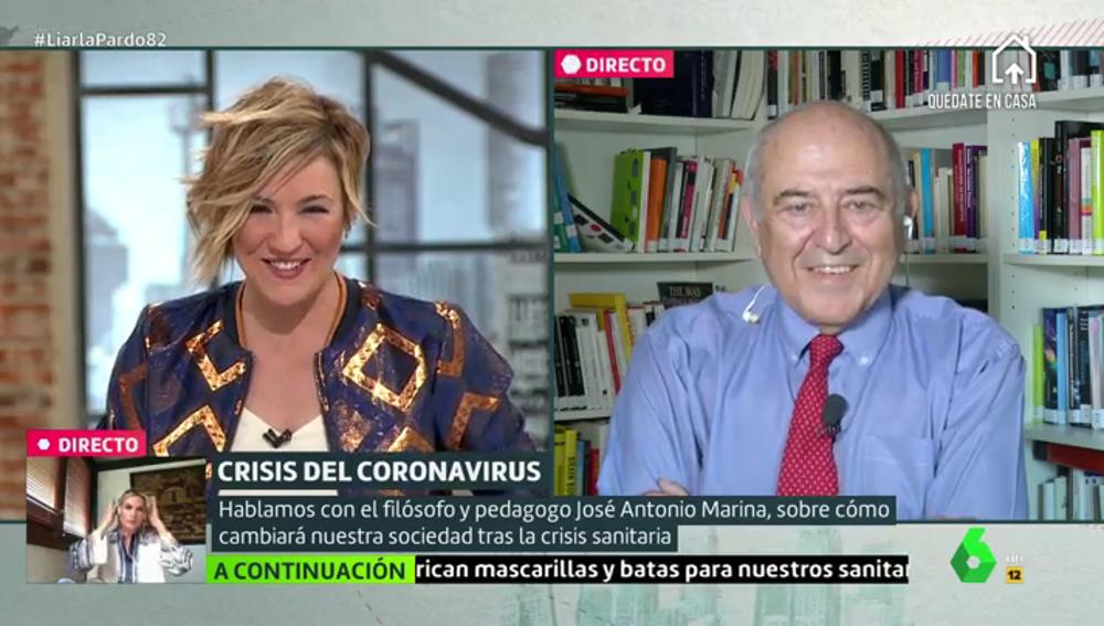 """El filósofo José Antonio Marina explica cómo será el ser humano tras la epidemia: """"Saldremos iguales"""""""