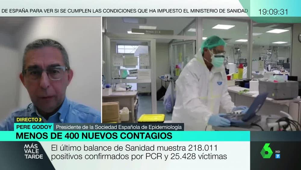 Pere Godoy, presidente de la Sociedad Española de Epidemiología