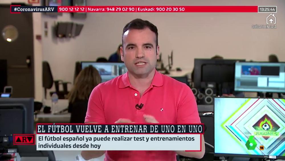 Vuelve el fútbol en España: entrenamientos individuales, realización de test y nuevo protocolo