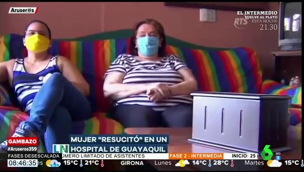 Una mujer 'resucita' después de que la dieran por muerta y su familia recibiese las cenizas