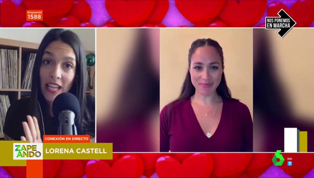 Lorena Castell y Meghan Markle