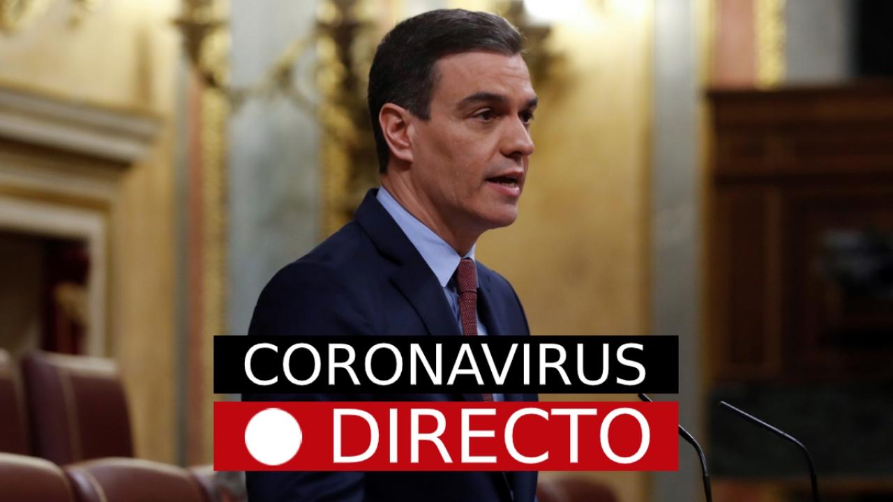 Votación al estado de alarma por el coronavirus en España y la desescalada, en directo