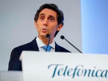 El presidente del grupo Telefónica, José María Álvarez-Pallete.