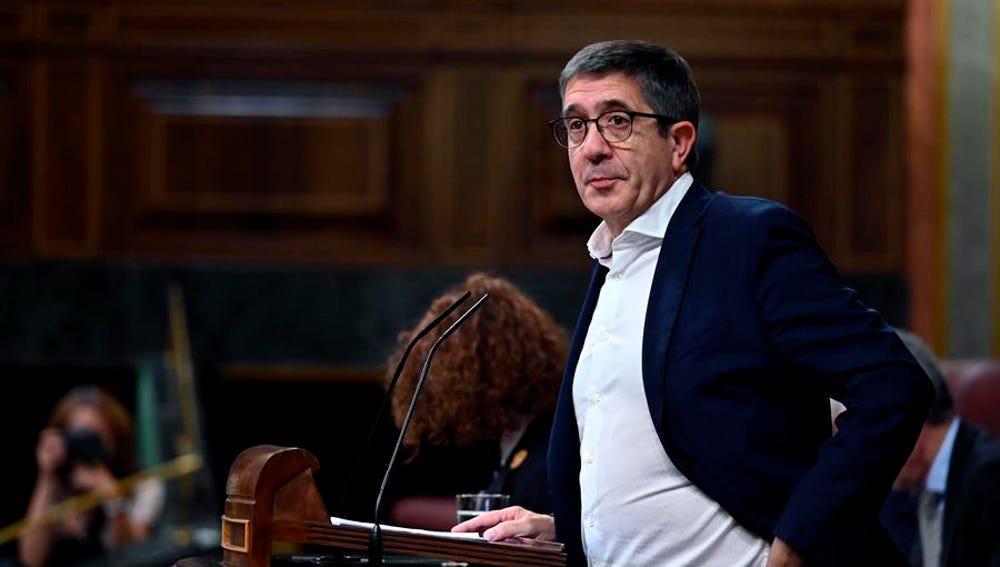 El diputado socialista Patxi López