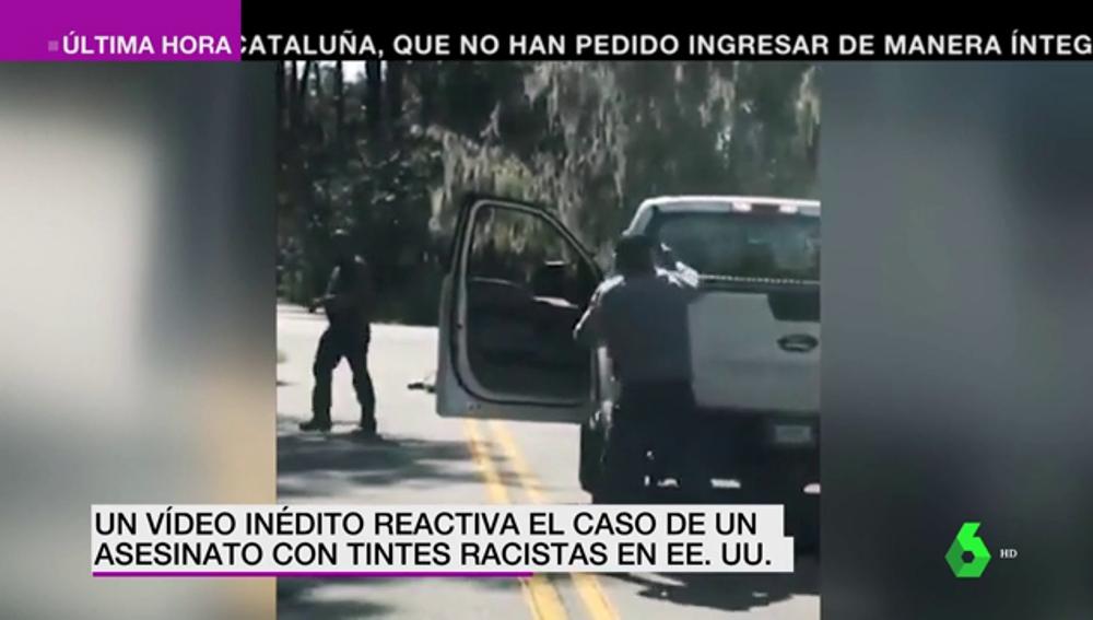 Un vídeo inédito reactiva el caso de un asesinato racista en Estados Unidos