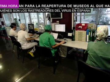 Rastreadores del coronavirus: miles de personas investigan en España los contactos de las personas contagiadas