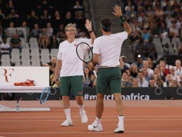 Bill Gates y Rafa Nadal