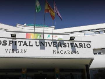 Imagen de la fachada del Hospital Universitario Virgen de la Macarena