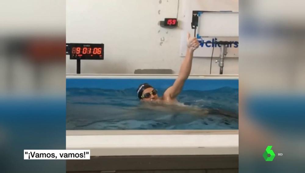 Pablo Fernandez nadador