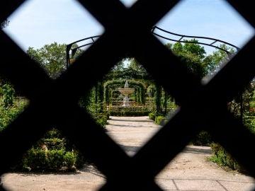 Vista del parque de El Retiro en Madrid