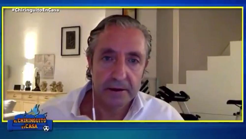 """Josep Pedrerol estalla: """"Me parece una frivolidad decir que los futbolistas merecen 11 000 test"""""""