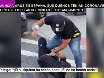 Indignación por la violencia contra negros e hispanos por parte de las patrullas del distanciamiento social en Nueva York