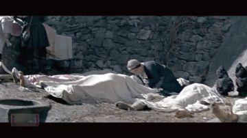 Imagen de una película sobre la peste negra