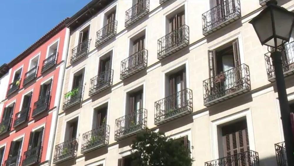 Imagen de archivo de una fachada