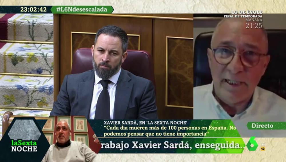 """Xavier Sardà: """"Los políticos están alejados de la vida cotidiana; verles haciendo política me parece obsceno"""""""