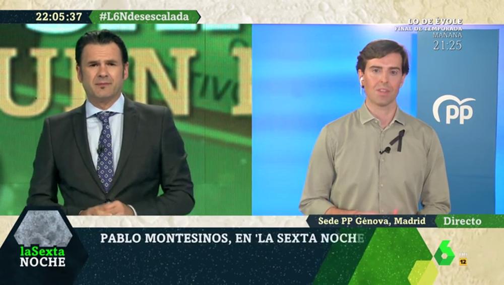 """Pablo Montesinos: """"Dejar el estado de alarma no es sinónimo de no dar garantías de salud a los españoles"""""""
