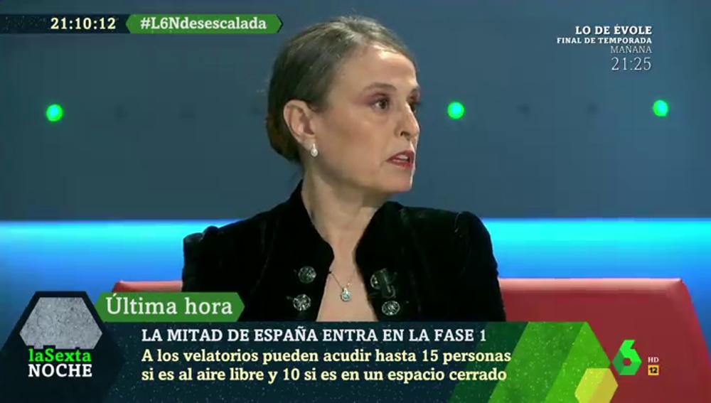 """García Alumbreros, enfermera: """"Tenemos pánico atroz porque no sabemos cómo se podría afrontar un nuevo rebrote"""""""
