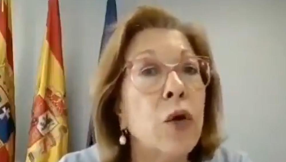 La consejera de Sanidad de Aragón, Pilar Ventura