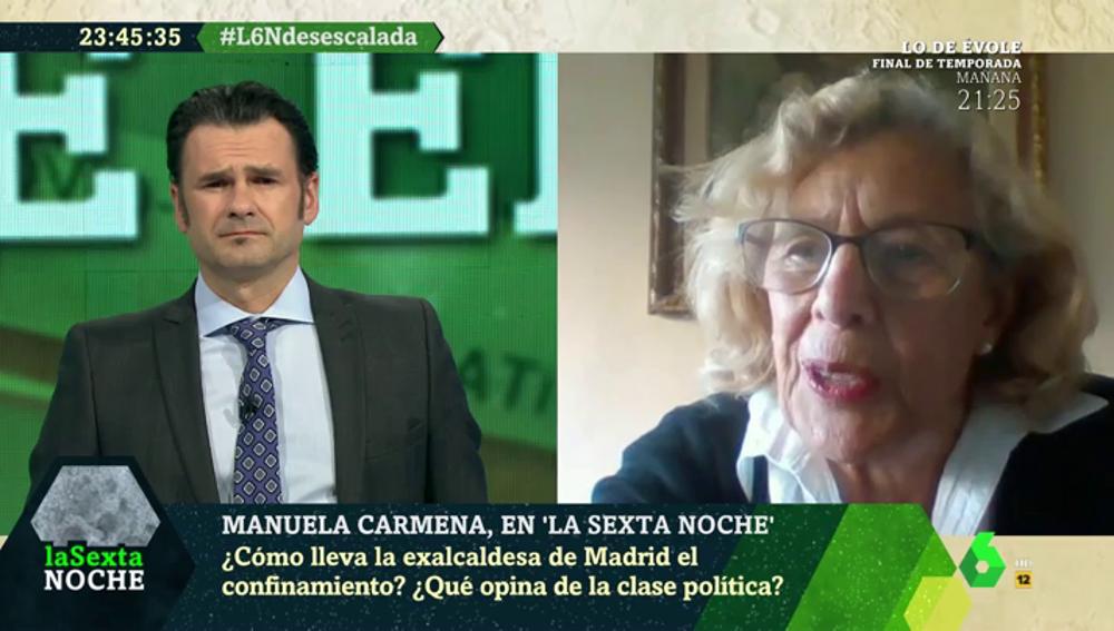 """Manuela Carmena: """"Estoy orgullosa de que el Ayuntamiento de Madrid esté dando ejemplo"""""""
