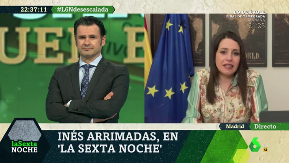 """Inés Arrimadas: """"Los que esperan que los gobiernos de PP y Ciudadanos caigan se van a quedar con las ganas"""""""