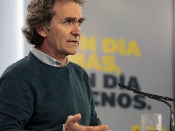 Fernando Simón, director del Centro de Coordinación de Emergencias del Ministerio de Sanidad.