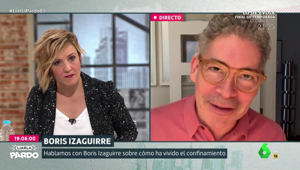 """Boris Izaguirre: """"No me gustaría que siguiéramos siendo tremendamente consumistas y materialistas"""""""