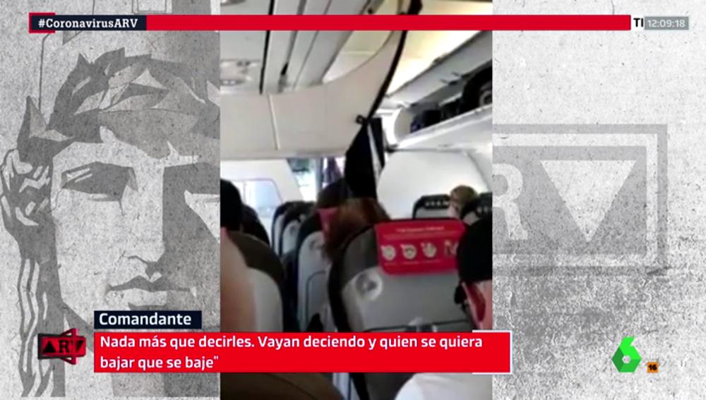 La Guardia Civil denunciará a Iberia por la aglomeración del vuelo Madrid - Gran Canaria