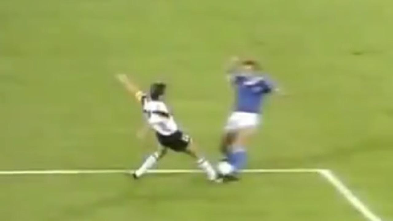 Penalti no pitado en la final del Mundial 1990